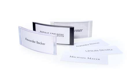 Vorlage Word Namensschilder Namensschilder Zur Selbstgestaltung Mit Word Vorlage B H Mayer S Identitysign Gmbh