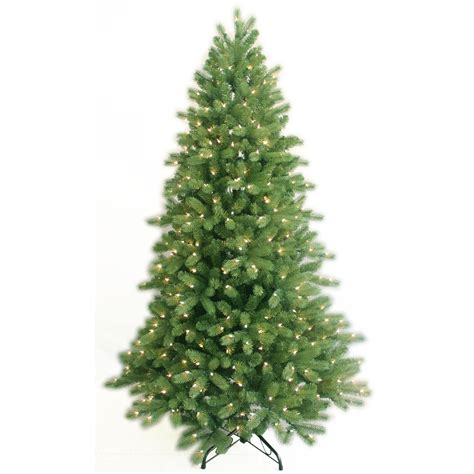75 natural cut frasier fir christmas tree with 450 led f5