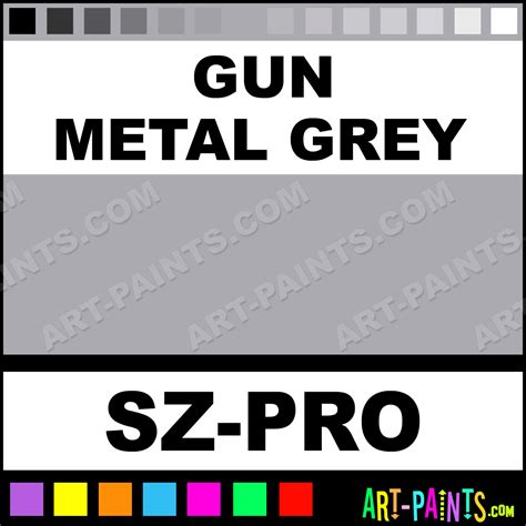 pin gun metal grey on