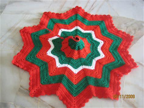 crocheted tree skirt patterns crochet and knitting patterns