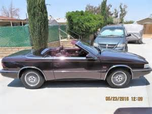 Chrysler Tc Maserati 1989 Chrysler Tc Maserati For Sale Photos Technical
