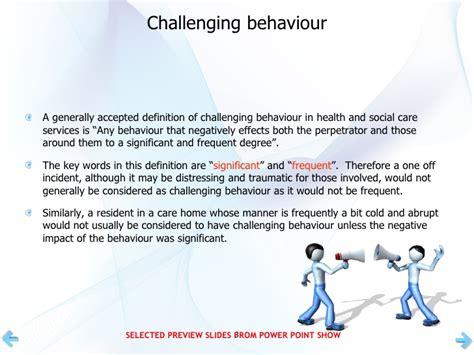 definition challenging behaviour challenging behaviour in dementia