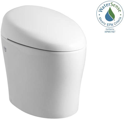 Bidet For One Piece Toilet Kohler Karing 1 Piece 1 28 Gpf Single Flush Elongated