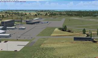 freeport grand bahamas airport scenery for fsx