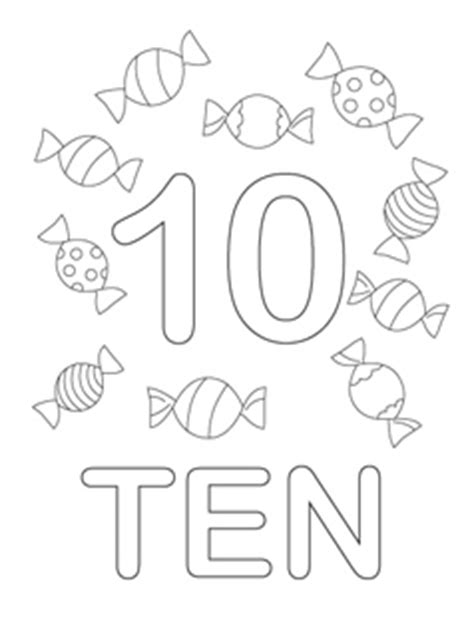 coloring pages for numbers 1 10 number coloring pages mr printables