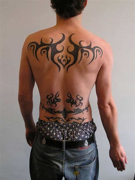 male back tattoo designs lower back tattoos for ideas and designs for guys