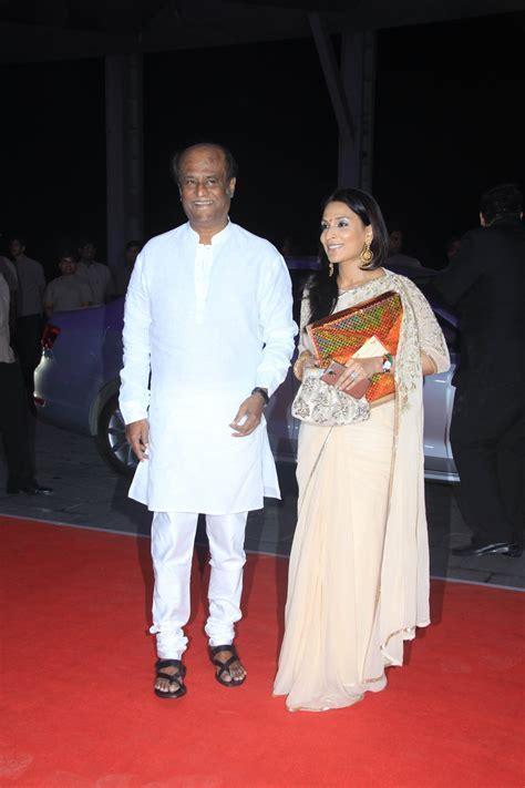Rajinikanth 34th Wedding Anniversary: 'Lingaa' Star Meets