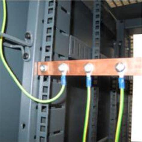 Ground Server Rack by Rktebk Rak It Earth Bonding Kit Bar Black Box