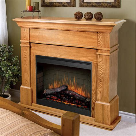 Oak Electric Fireplace by Kenton Oak Electric Fireplace Mantel Package Smp 130 O