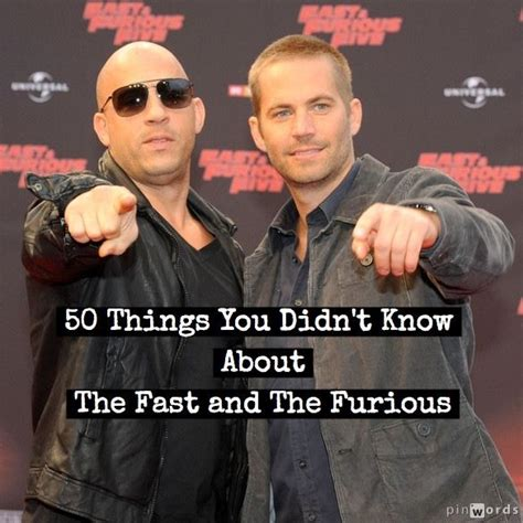 fast and furious quiz which character are you 50 things you didn t know about the fast and furious films