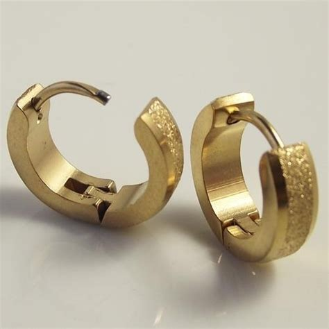 Gold Earrings For Mens Online     already4fternoon.org