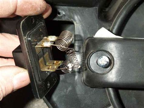 mgf heizung heater resistor pack