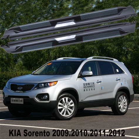 Kia Sorento Accessories 2011 Sorento Car Running Boards Auto Side Step Bar Pedals For
