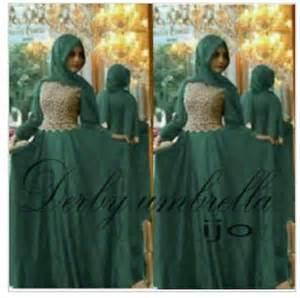 Maxi Dress Muslim Dress Baju Wanita Umbrella Dress maxi dress pesta maxi dress baju muslim busana