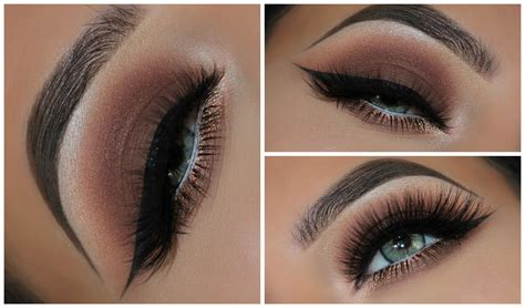 Eyeshadow Brown A Simple Brown Smokey Eyeshadow Look Amys Makeup Box