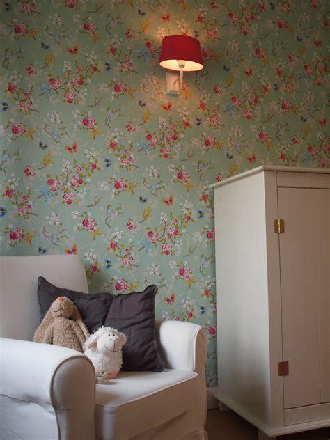 meiden behang behang meiden top frozen floral pattern with behang