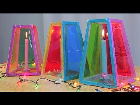 como hacer farolas en origami faroles o linternas hechas en casa youtube