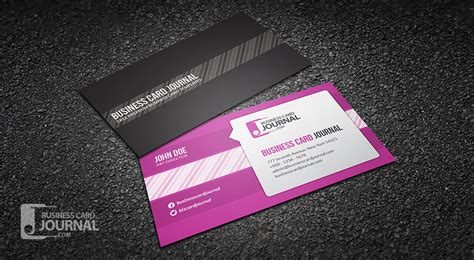 social media business card template free free creative speech business card template