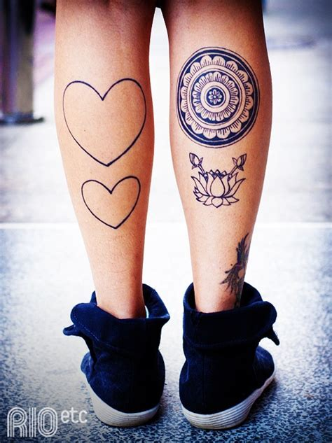 heart with words tattoo designs calves design hearts mandala words flower