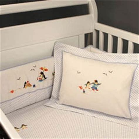 penguin baby bedding penguin beach party crib bedding set