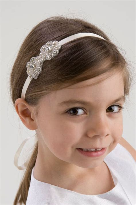 hairstyles with jeweled headband the 25 best flower girl hairstyles ideas on pinterest