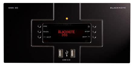 format audio dss blacknote dss 30 digital static source audio player dac