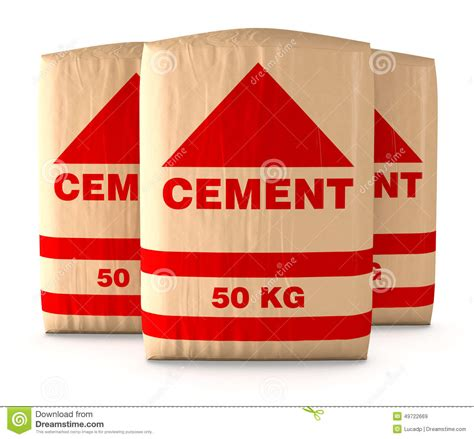 bags of cement stock illustration image of background