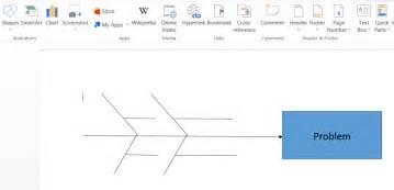 Fishbone Diagram Template In Word Lucidchart Fishbone Diagram Template Word Document