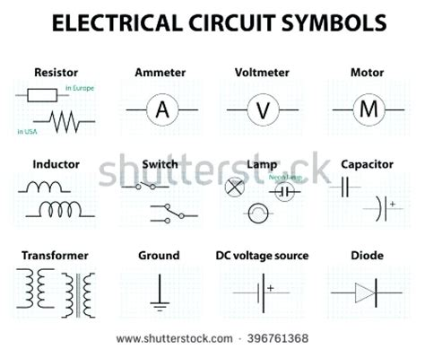 amazing symbols of electronics components mold