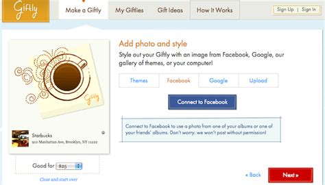 Send Gift Cards Through Facebook - 10 social ways to find and send gifts online