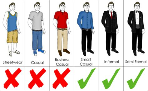 business casual dress guidelines for men long hairstyles