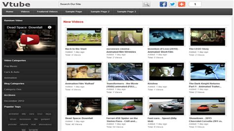 wordpress themes video gallery webostock marketplace