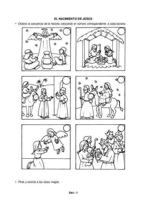 secuencia de imagenes nacimiento de jesus el nacimiento de jes 250 s