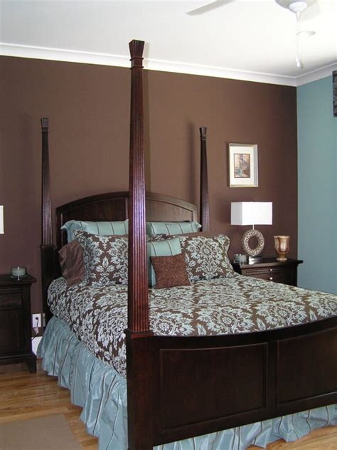 blue and brown walls master bedroom design photos design bookmark 9943