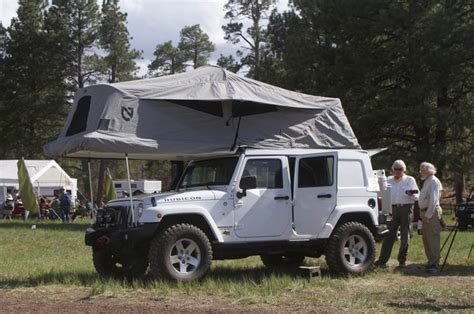 Jeep Tent Roof 2013 Overland Expo Jeep Roof Tent Jeep