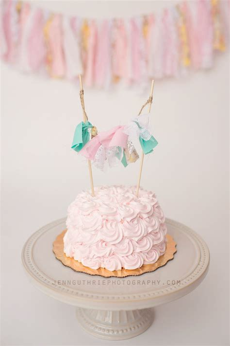 rag tie cake garland shabby chic cake by withlovekenzieann on etsy