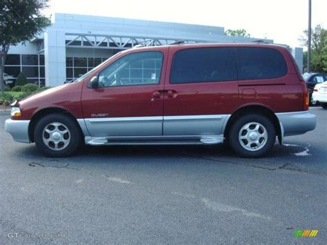 nissan minivan 2000 sunset red 2000 nissan quest gle exterior photo 49811067