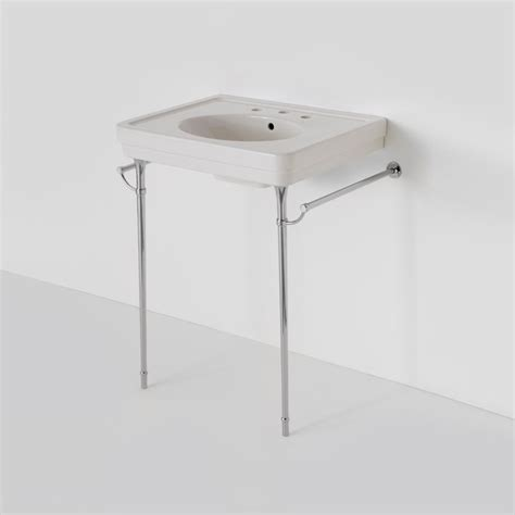 bathroom sink legs alden metal round two leg single washstand bathroom