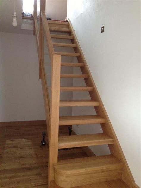 Glass Balustrade On Oak Open Plan Stairs Glass Balustrade On Oak Open Plan Stairs