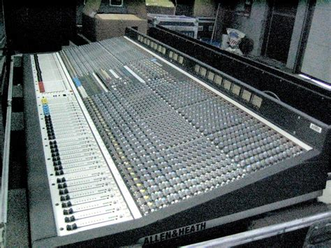 Mixer Allen Heath Ml 5000 used ml5000 52 channel by allen and heath item 23195