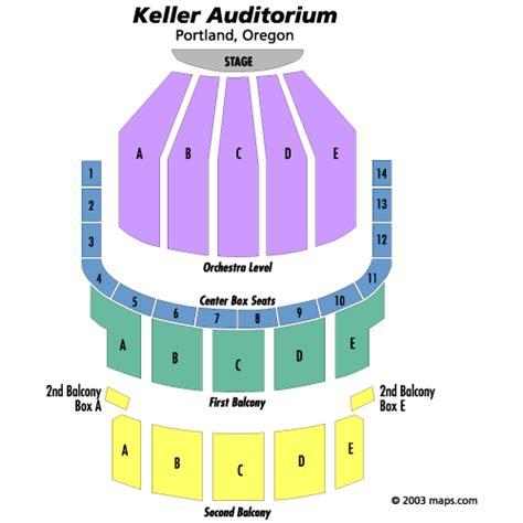 keller auditorium seat map hair december 31 tickets portland keller auditorium hair