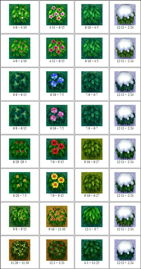tulips breeding guide animal crossing pinterest all flowers bushes in animal crossing new leaf animal