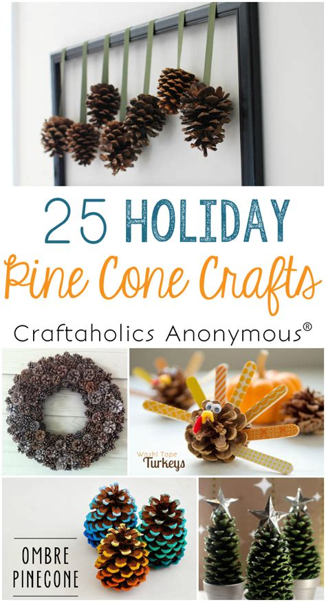 pine cone crafts for christmas craftaholics anonymous 174 25 pine cone crafts