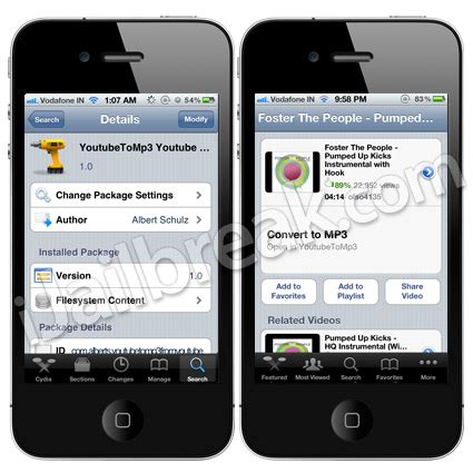 download mp3 from youtube tweak convert youtube videos to mp3 on iphone ipod touch ipad