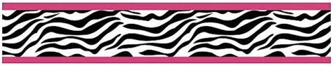 black and white zebra print wallpaper border pink and black zebra print wallpaper border wallpaper images