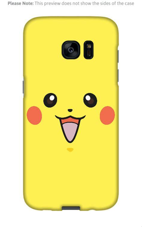 Casing Hp Samsung Galaxy S7 S7 Edge Pikachu X4661 samsung galaxy s7 edge pikachu