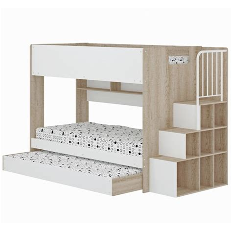 Trio Bunk Beds For Sale Trio Single Bunk Bed Shelves Temple Webster