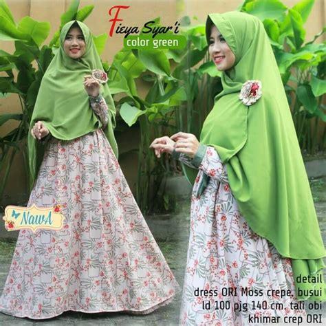 Isyana Dress Syari By Nawa by Fieya Syari By Nawa Pusat Grosir Jilbab Modern