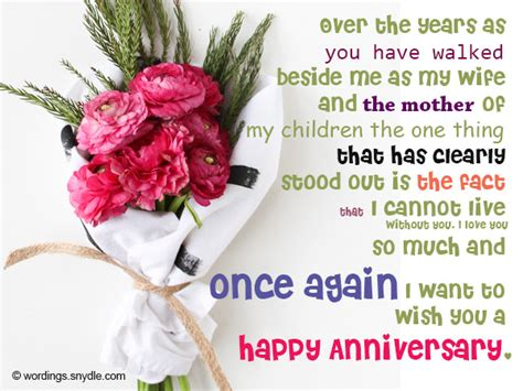 Wedding Anniversary Message To My by Image Gallery Happy Anniversary Messages