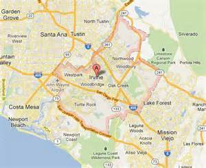 of california irvine cus map irvine california zoning map